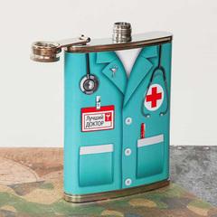 Фляжка «Лучший доктор», 240 мл, фото 3