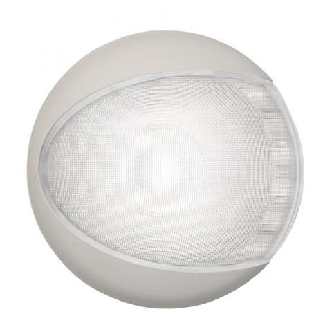 Светильник интерьерный светодиодный накладной, Ø130 мм, белый корпус