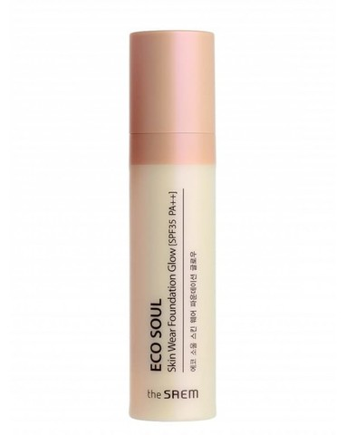 Тональная основа Eco Soul Skin Wear Foundation Glow C 1.5 30мл