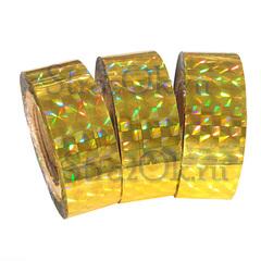 Купить обмотку для обруча и булав в Москве золотую желтую
