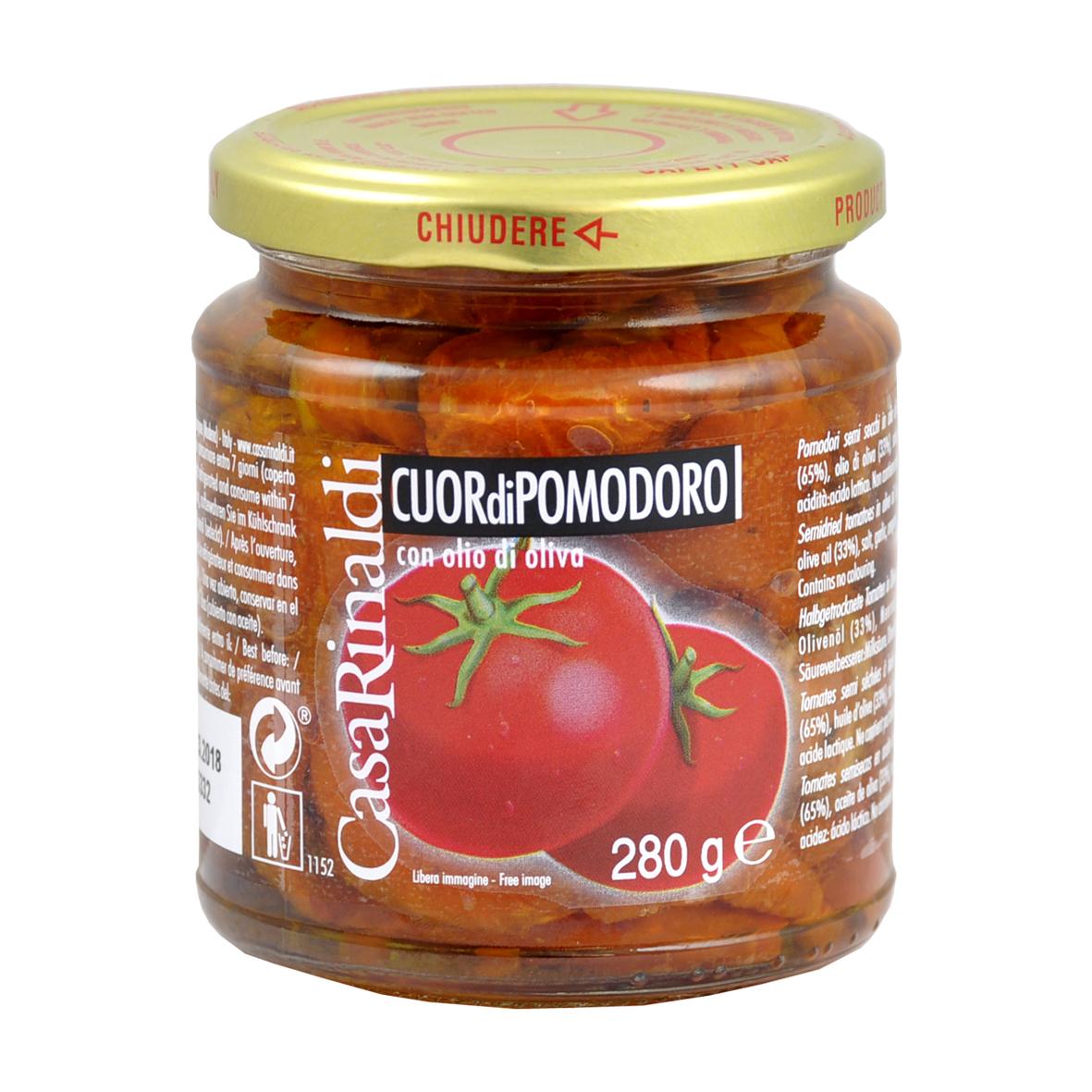 Сердцевина помидоров в оливковом масле Casa Rinaldi 280 г