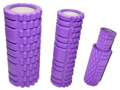 Валик-матрёшка для йоги полый жёсткий: YJ33См-2