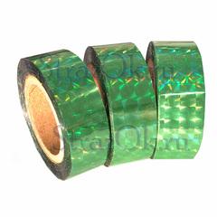 Купить голографическую hologram обмотку для обруча светло-зеленую