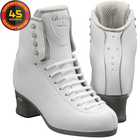 Ботинки фигурные Jackson Debut (белые)
