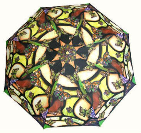 Зонт складной Guy de Jean 6410-10 Tiffani Butterfly