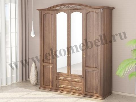 Шкаф «Венеция» 4-х створчатый