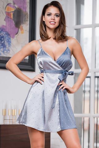 Платье-сорочка Eliza 8174 Silver Mia-Amore