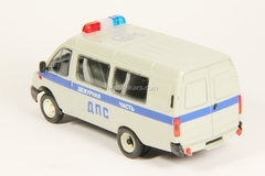 GAZ-3221 Gazelle DPS Police restyling gray Agat Mossar Tantal 1:43