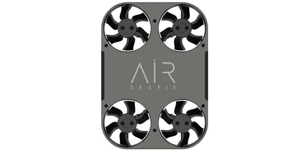 Квадрокоптер Airselfie 2 Power Edition (black) вид сверху