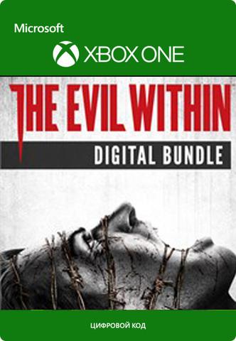 Xbox Store Россия: The Evil Within Digital Bundle (цифровой ключ, русские субтитры)