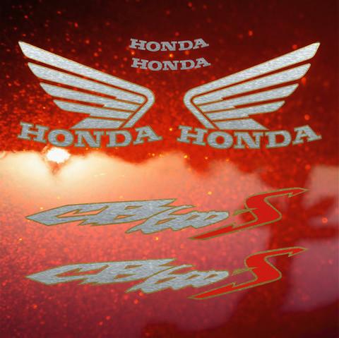 Набор виниловых наклеек на мотоцикл HONDA  CB 600S Hornet US '00 -2003