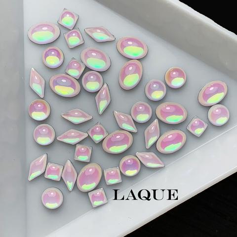 MIX крупных камней - WHITE OPAL (не теряют цвет)