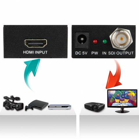 Преобразователь HDMI - SDI/3G (Конвертер  переходник HDMI to SDI)