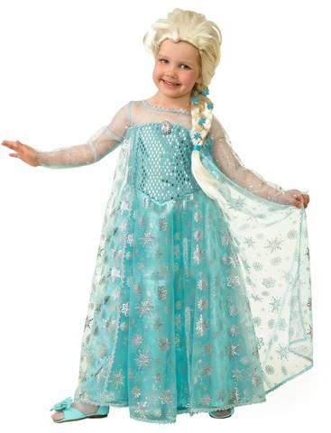 Карнавальный костюм  Эльза (текстиль)