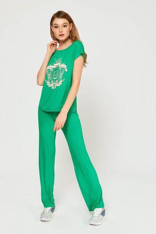 Пижама 51828L-3 зелёный Laete