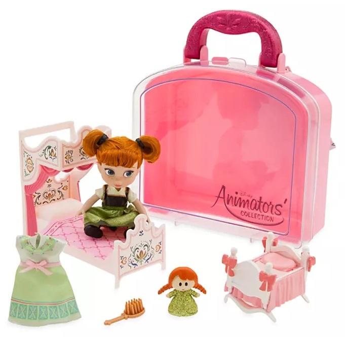 Набор кукольный «Анна» в чемоданчике Disney Animators' Collection