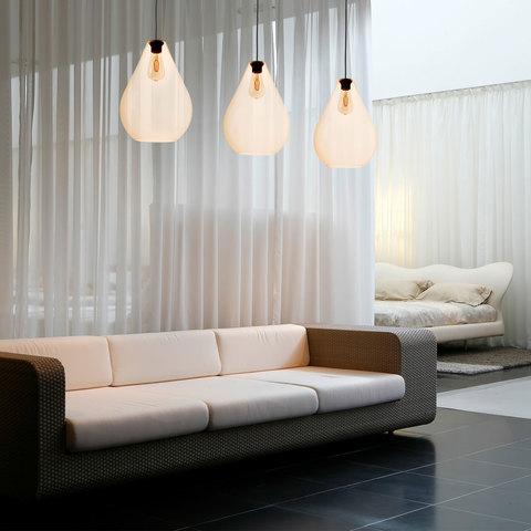 Подвесной светильник со стеклянными плафонами 4323 Fuente