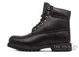 Ботинки Мужские Timberland 10061 Waterproof Black Leather