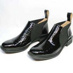 Женские ботинки ботильоны короткие Ari Andano 721-2 Black Snake.