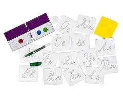Учимся писать Прописные буквы, Smile decor