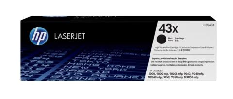 Оригинальный картридж HP C8543X (№43X), чёрный