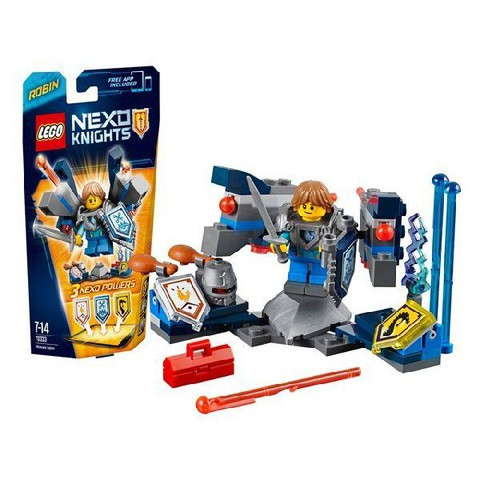 LEGO Nexo Knights: Робин – Абсолютная сила 70333 — Ultimate Robin — Лего Нексо Рыцари