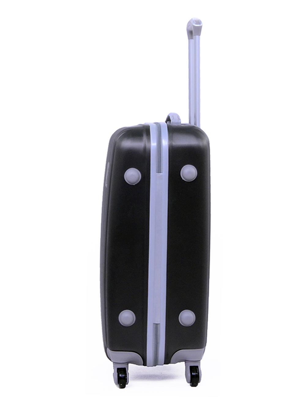 Чемодан Ananda пластиковый APL-833 Черный ручная кладь (S)