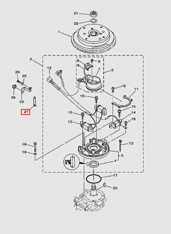 Держатель для лодочного мотора T40 Sea-PRO (8-27)