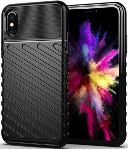Чехол iPhone XS Max цвет Black (черный), серия Onyx, Caseport