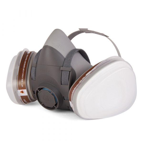 Средства индивидуальной защиты Полумаска JETAPRO 5500 резиновая в сборе с фильтрами 5500.jpg