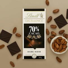 Lindt Excellence Dark Supreme Noir 70% Cocoa, 100g