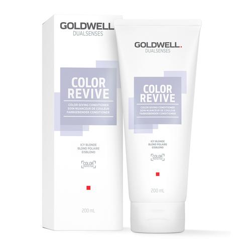 Тонирующий кондиционер Goldwell Dualsenses Color Revive Conditioner Ice Blond, 200 мл.