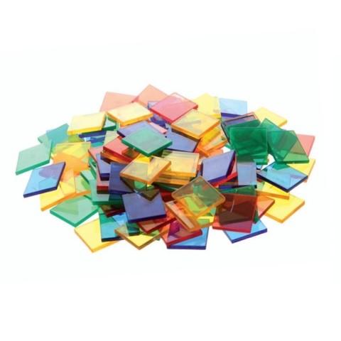 Счетный материал Плитки прозрачные, контейнер, Edx Education, арт. 13442J