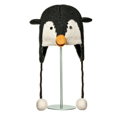 Картинка шапка с ушами Knitwits Peppy the Penguin