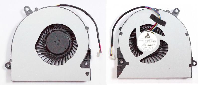 Вентилятор (кулер) для Asus X75A XJ4 X75VD