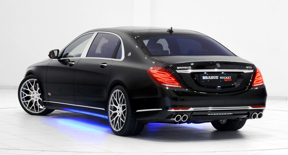 Обвес Brabus для Mercedes Maybach W222