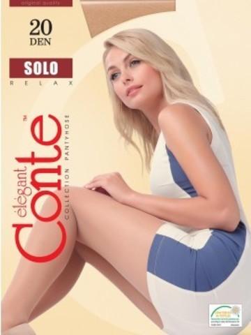 Conte Solo Колготки женские 20d, p.3  natural