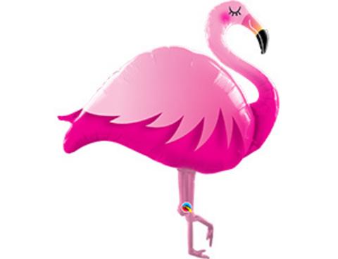 Фольгированный шар Фламинго розовый