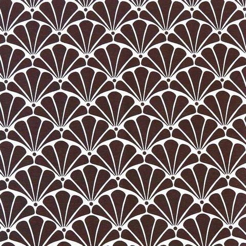 Хлопковая ткань Рапсодия уличная коллекция коричневый
