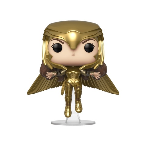 Фигурка Funko POP! Vinyl: DC: Wonder Woman 84: Wonder Woman (Gold Flying Pose) (MT) 46660
