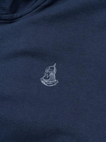 Толстовка  на молнии «Великоросс» синего цвета