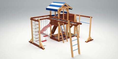 Детская площадка Савушка-16 (индивидуальная выкраска)
