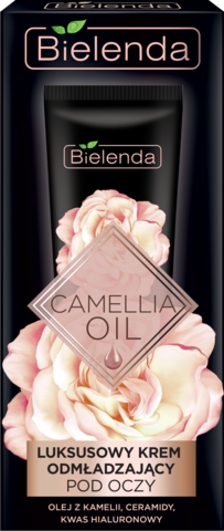 CAMELLIA OIL Эксклюзивный омолаживающий крем вокруг глаз, 15 мл