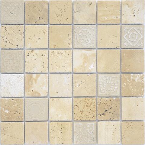 Мозаика Art Travertino Beige MAT 300х300