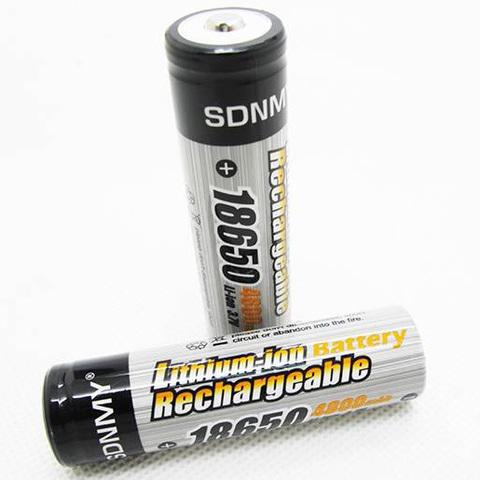 Аккумуляторы 18650 SDNMY 4800mAh (Li-ion)