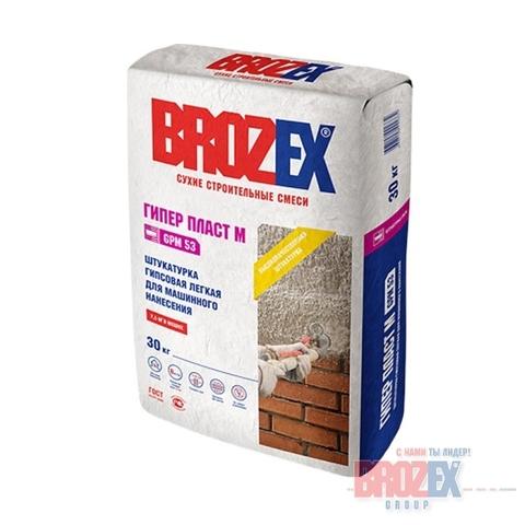 Штукатурка Brozex Гипер-пласт М GPM 53 30 кг