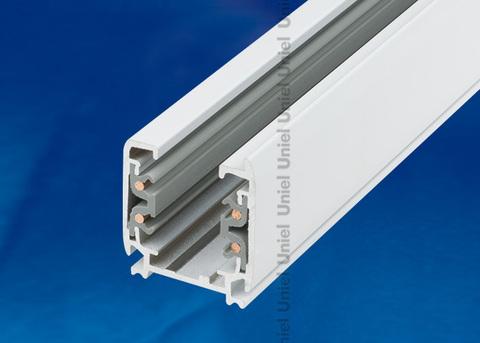UBX-AS4 WHITE 200 POLYBAG Шинопровод осветительный, тип А. Трехфазный. Цвет — белый. Длина 2 м. Упаковка — полиэтиленовый пакет.