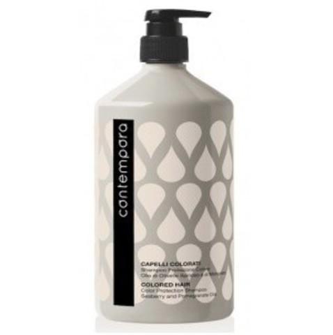 Шампунь Контемпора для окрашенных волос с маслом облепихи1000мл