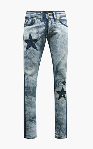 Джинсы The Saints Sinphony STAR RACER JEAN MEDUIM BLUE WASH купить