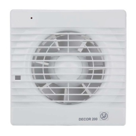 Накладной вентилятор Soler&Palau Decor 300CH (датчик влажности)